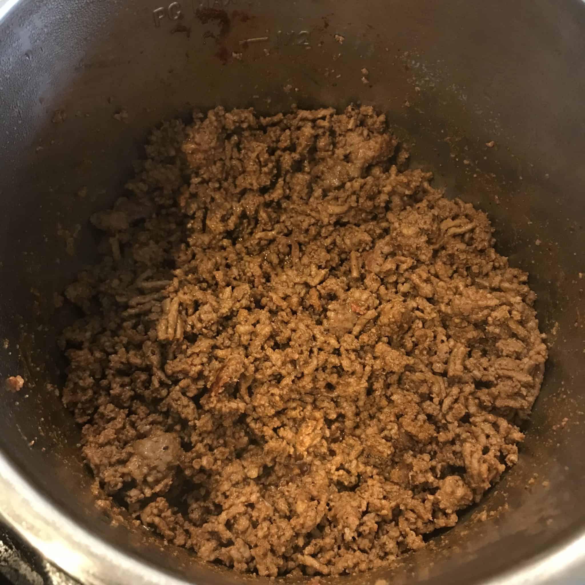 chorizo taco soup step 2