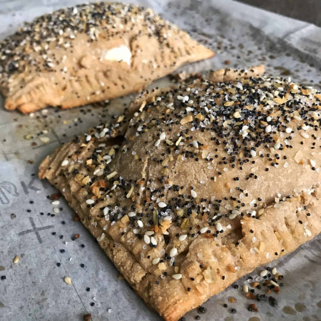 everything bagel protein pop tarts 2
