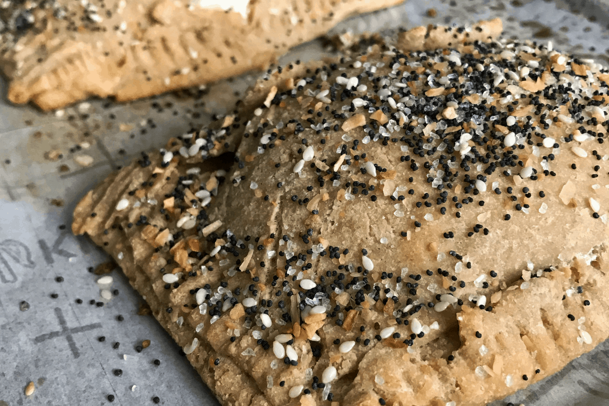 Everything Bagel Protein Pop Tarts