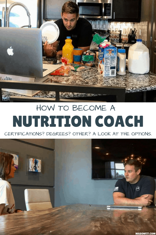 A look at the pros and cons of nutrition coaching certifications and degrees. And a 5-step process for becoming a successful self-employed nutrition coach.