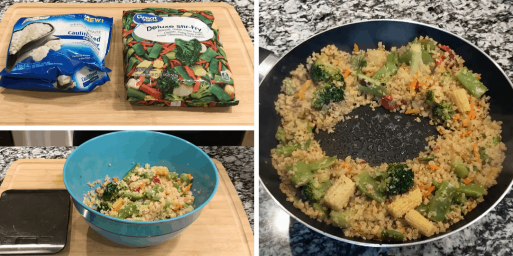 how to make fried cauliflower rice