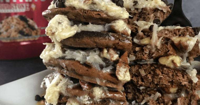 BSN Syntha-6 Cold Stone Creamery Germanchökolätekäke Protein Pancakes