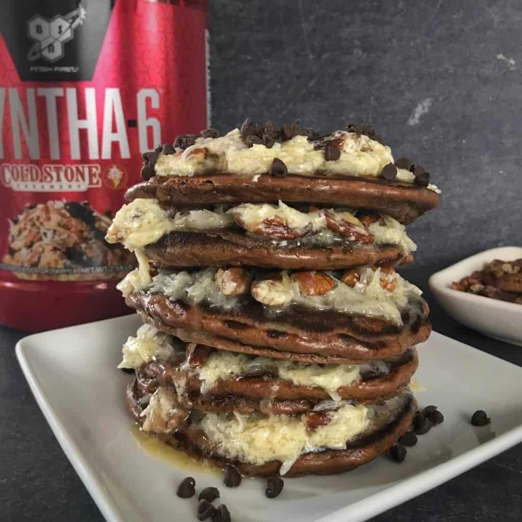 Germanchökolätekäke bsn syntha-6 protein pancakes 1
