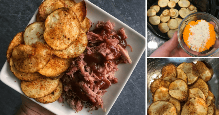 air fryer potato chips recipe