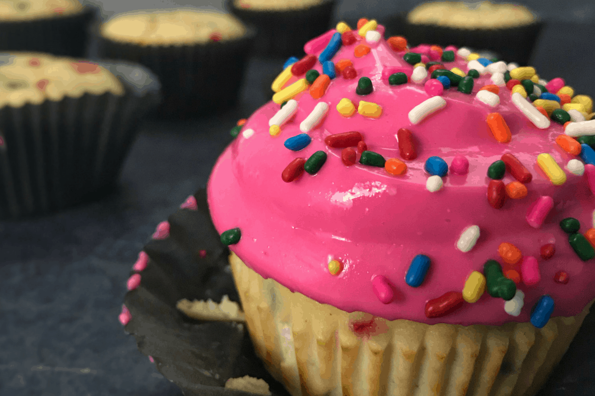 Protein Cupcakes High Protein Lower Carb Birthday Cupcakes