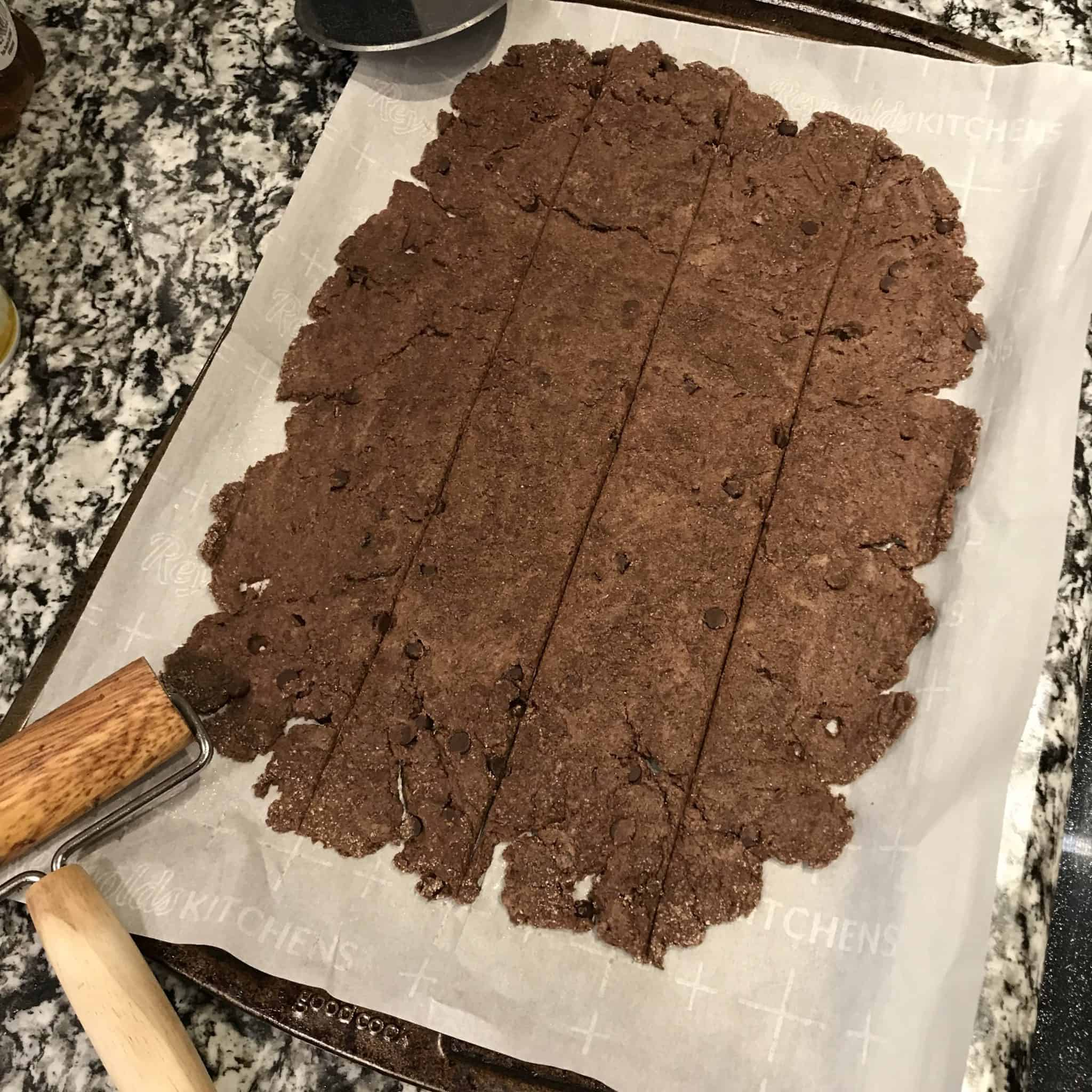 chocolate cinnamon rolls recipe step 2