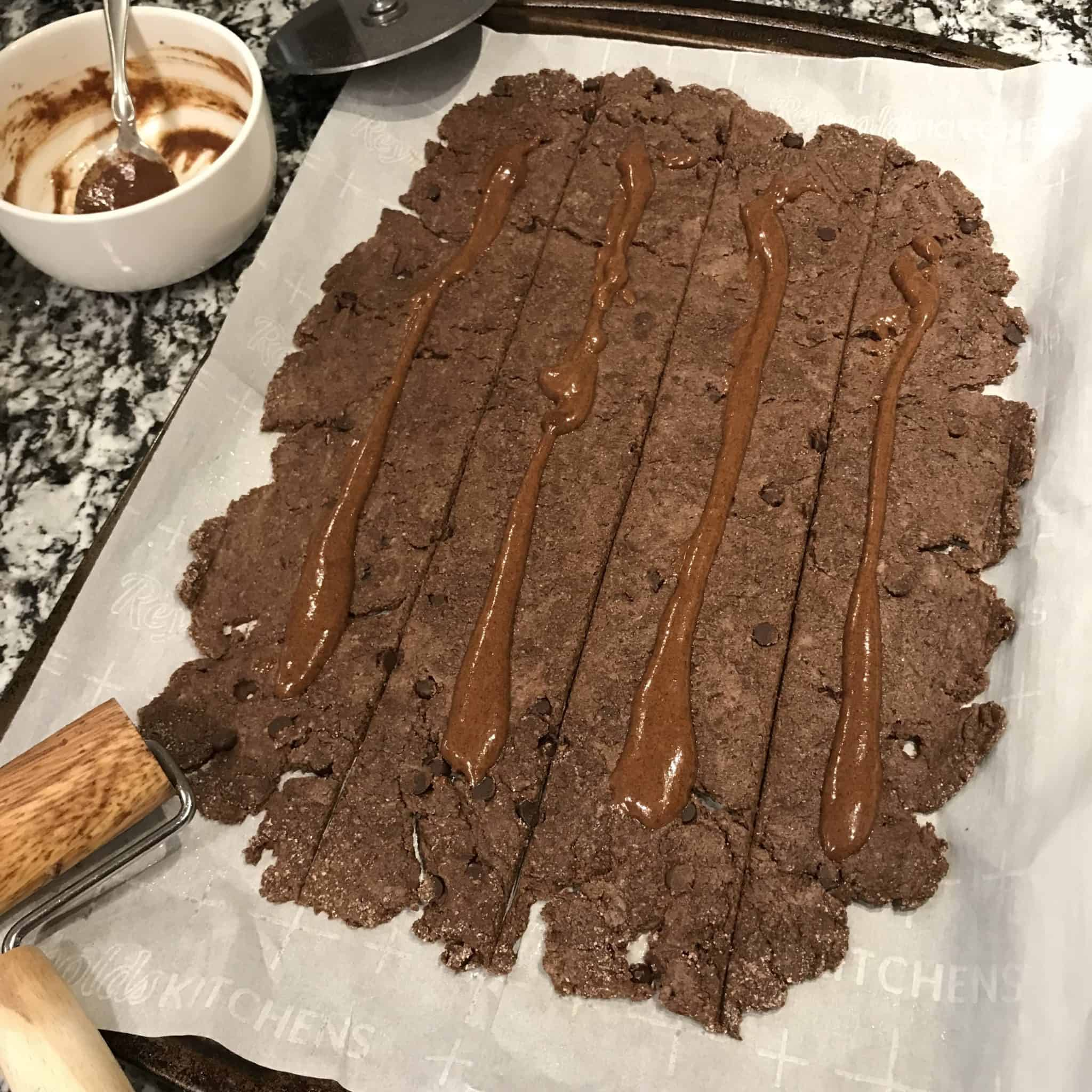 chocolate cinnamon rolls recipe step 3