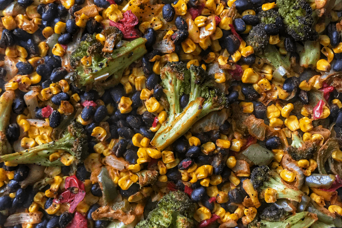 Tex-Mex Easy Roasted Vegetables