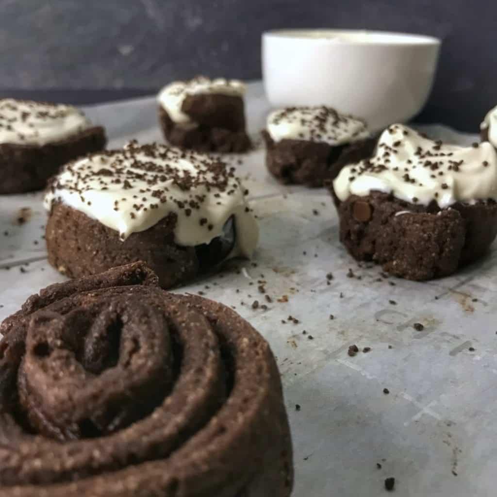 healthy chocolate cinnamon rolls recipe