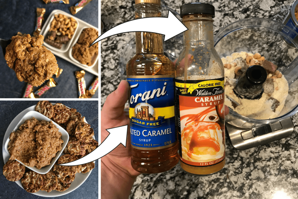 how to make caramel twix protein cookie butter