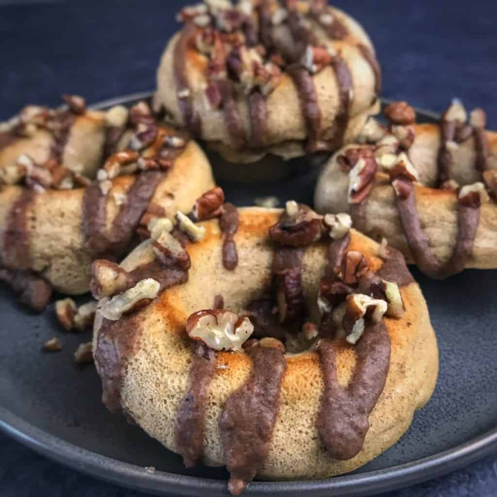 apple pie protein donuts