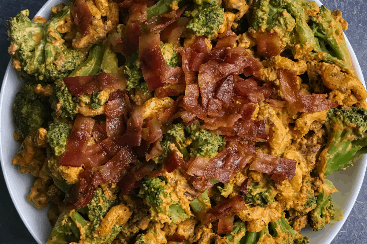bacon cheeseburger and broccoli healthy hamburger helper recipe
