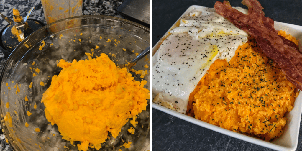 cheddar cauliflower grits recipe with food processor