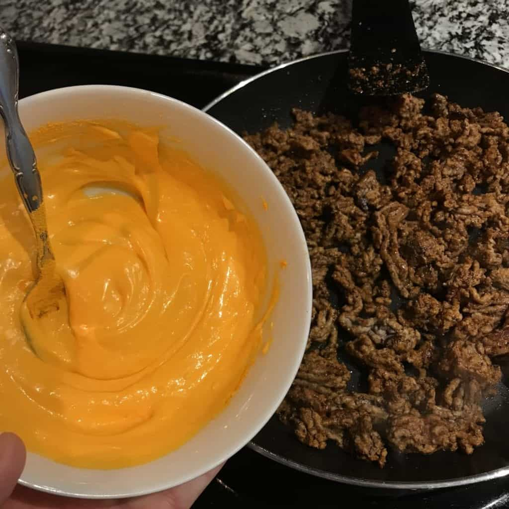 cheese sauce for hamburger helper