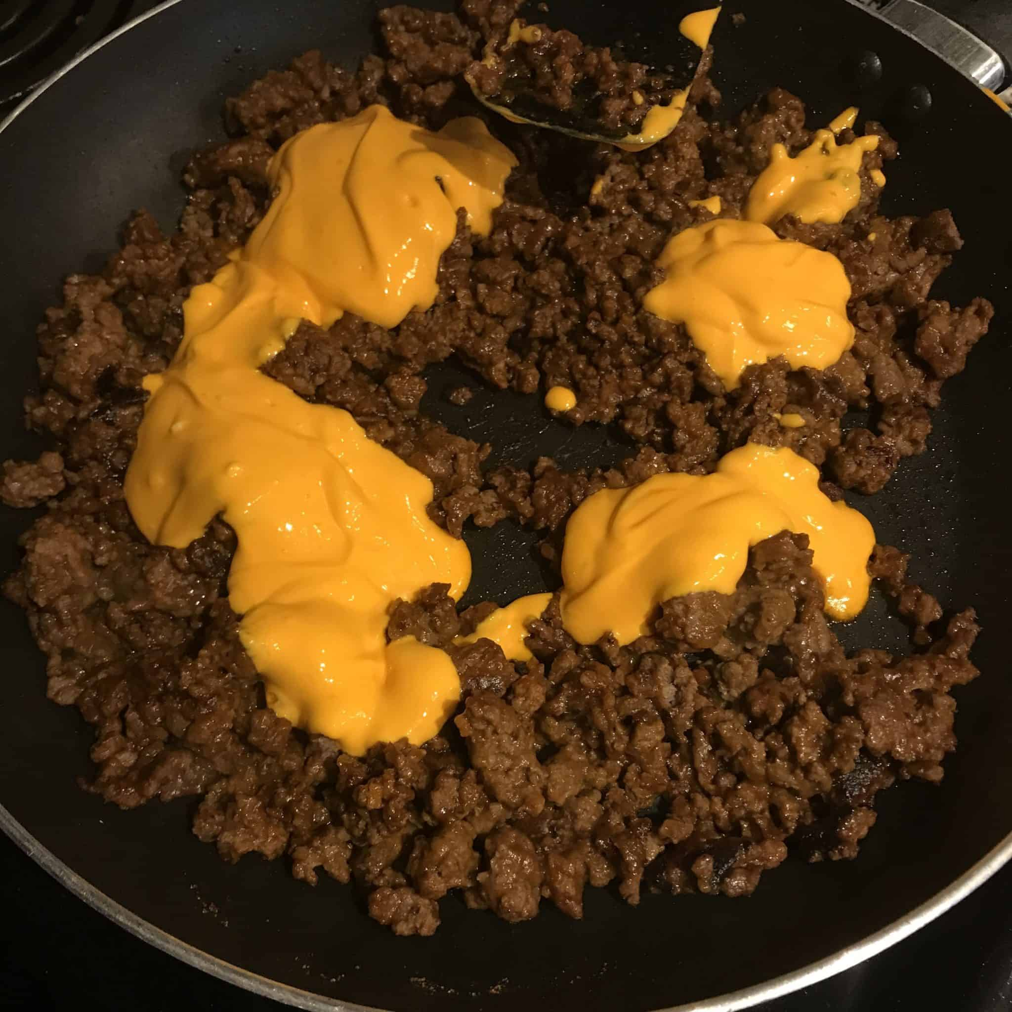 healthy taco meat for taco boats