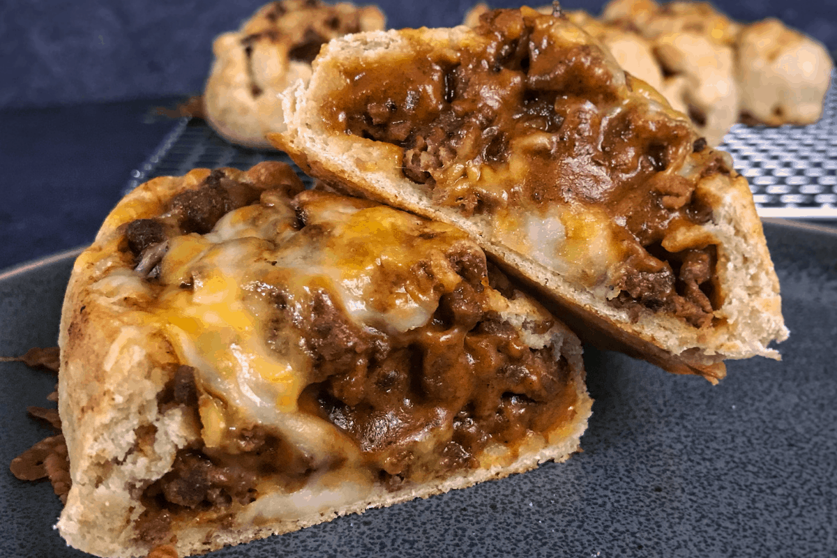 High Protein Cheesy Taco Boats