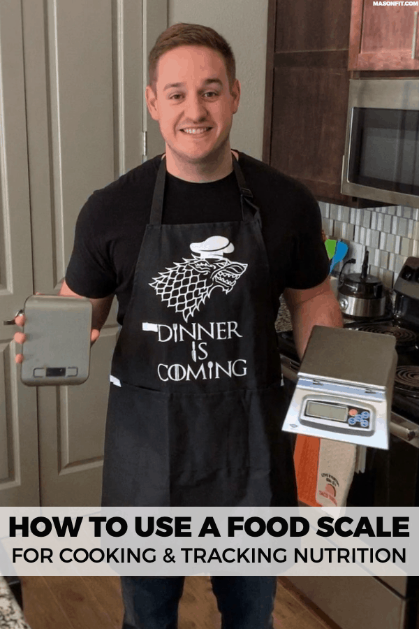 How to use a food scale to weigh recipes, calculate portion sizes and nutrition info in recipes, and easily weigh condiments and cooking oils.