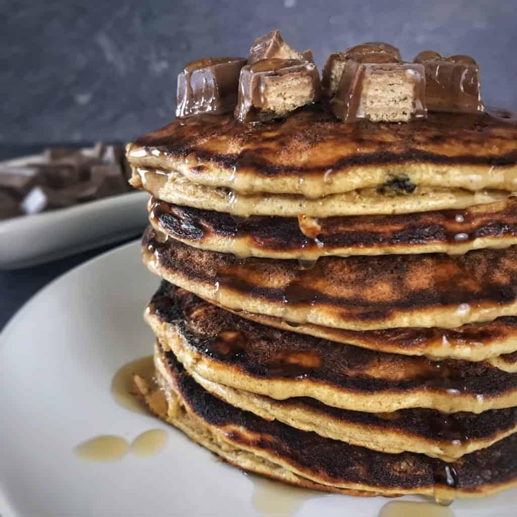 kit kat protein pancakes