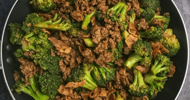 sticky sweet ground beef and broccoli recipe (1)