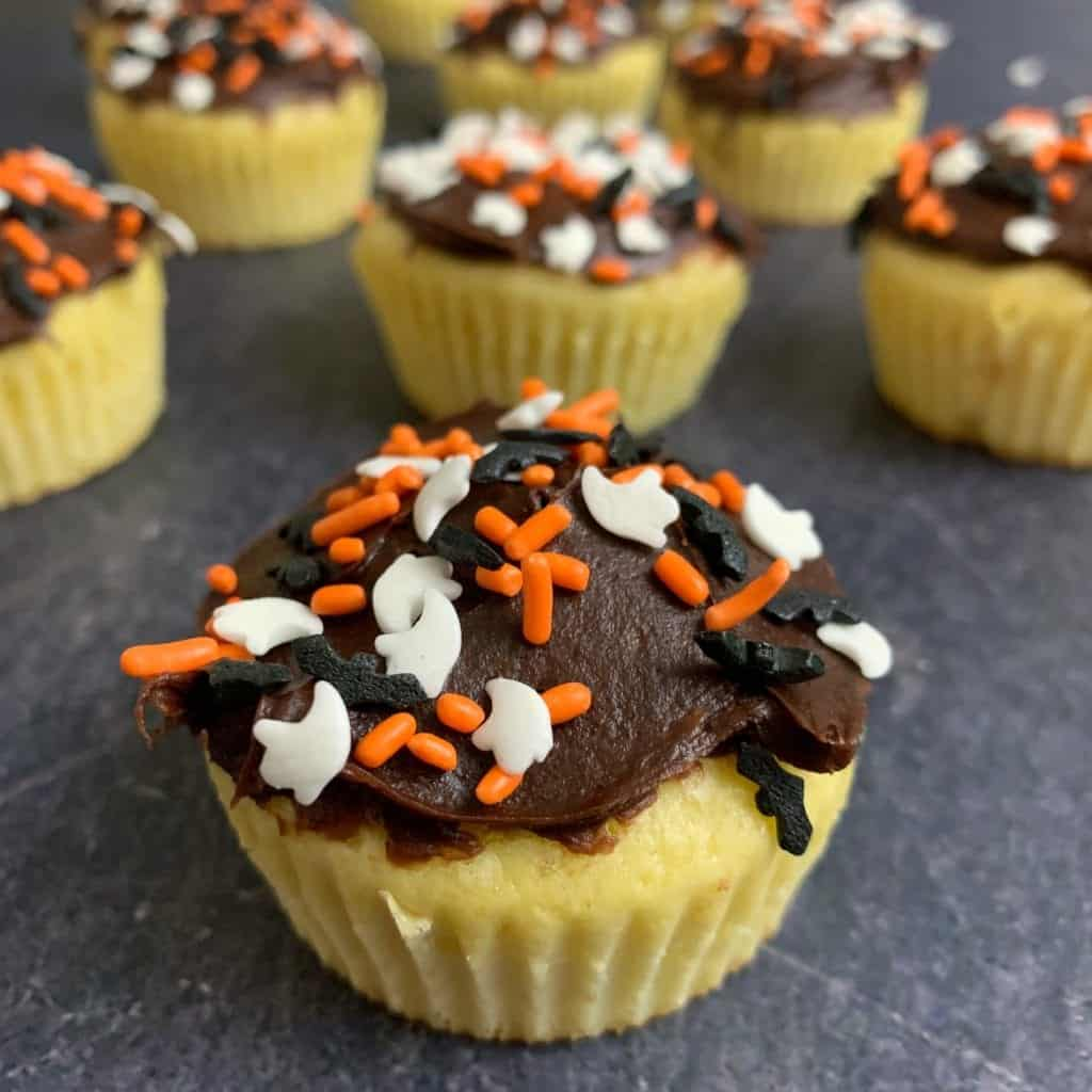 99-calorie simple protein cupcakes