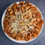 garlic parmesan healthy chicken pasta recipe
