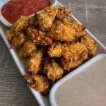healthy spicy popcorn chicken