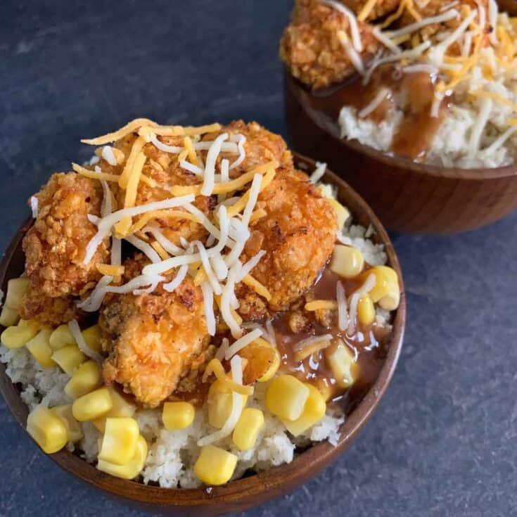 Healthier KFC Famous Bowls Copycat