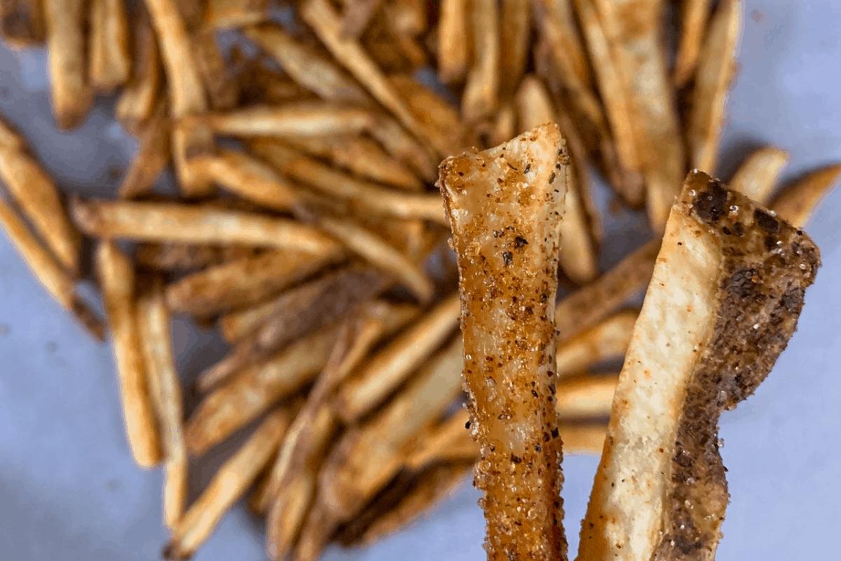 Healthier Copycat Wingstop Fries
