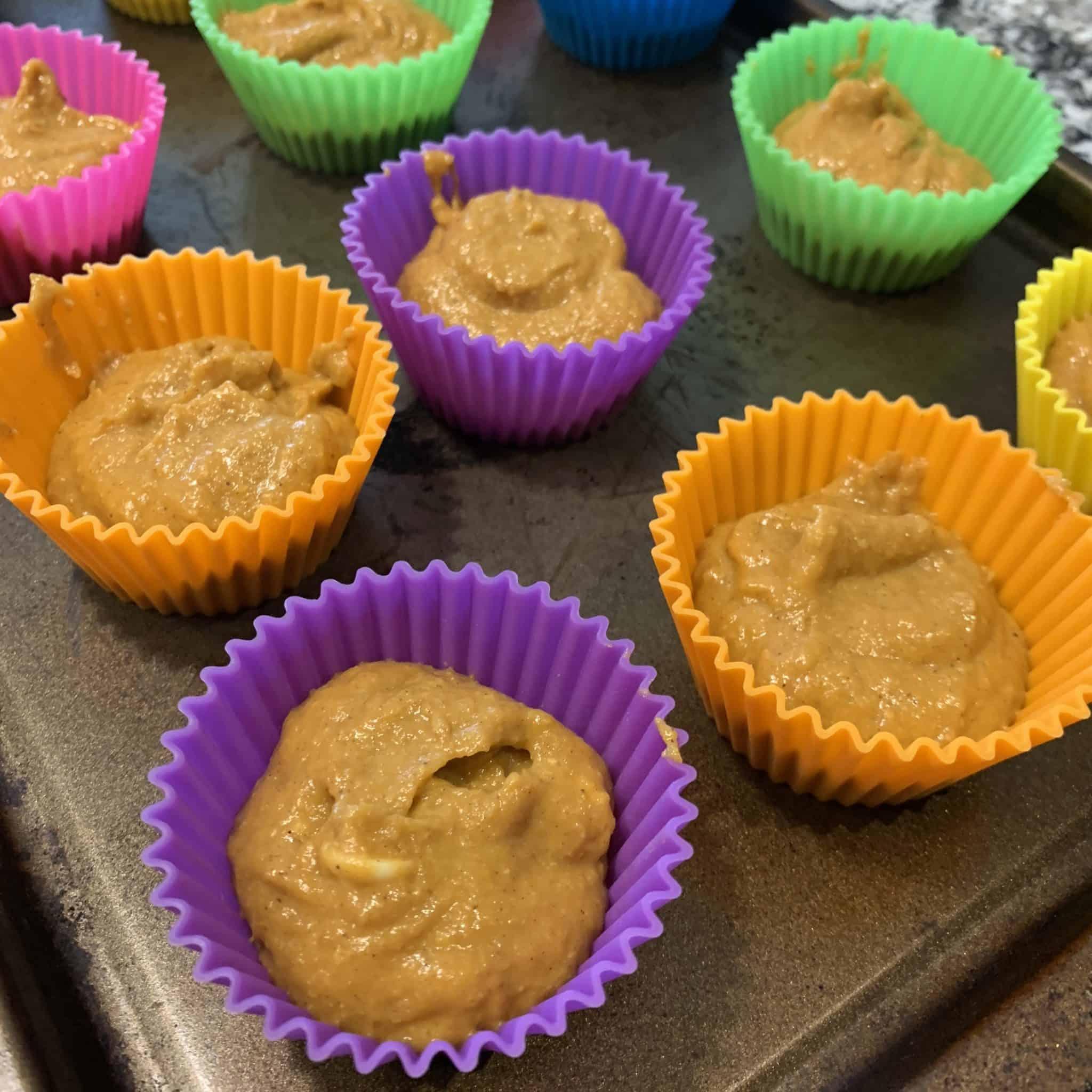 pumpkin protein muffins step 4