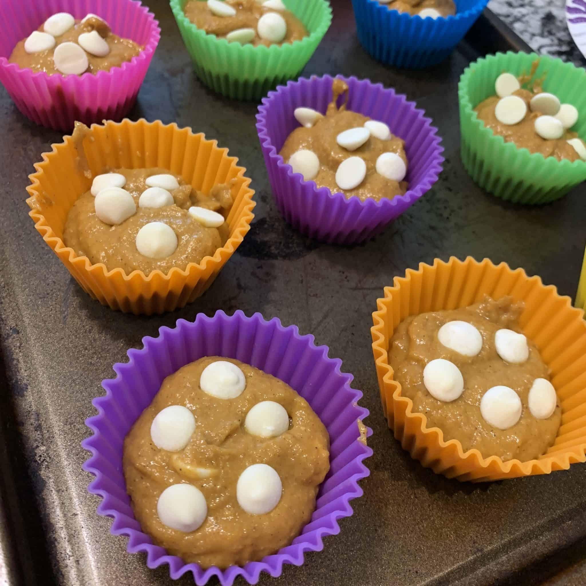 pumpkin protein muffins step 5