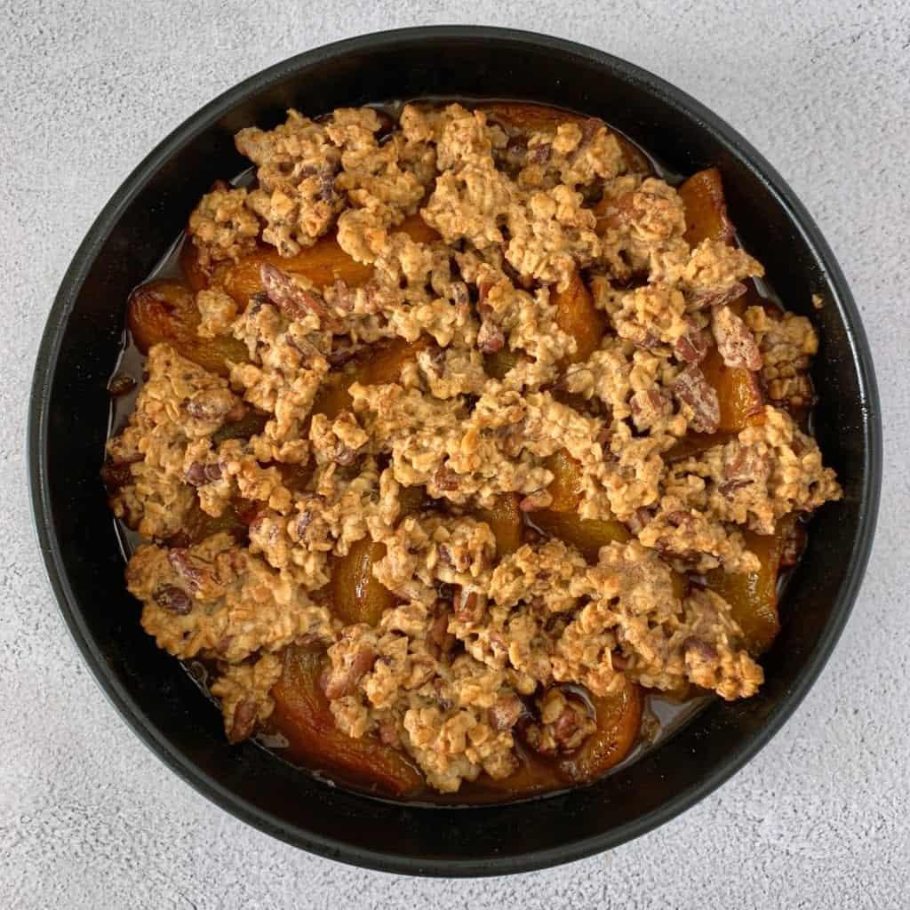 easy peach crisp recipe 2
