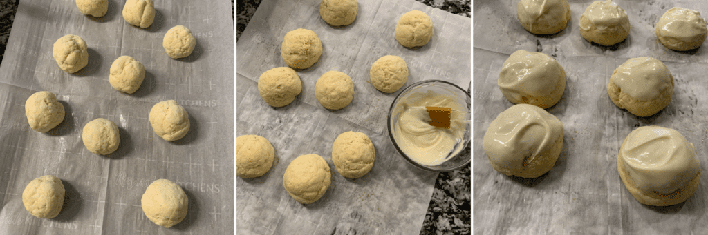 how to make protein cake bites the final steps