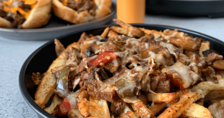 instant pot cheesesteak recipe