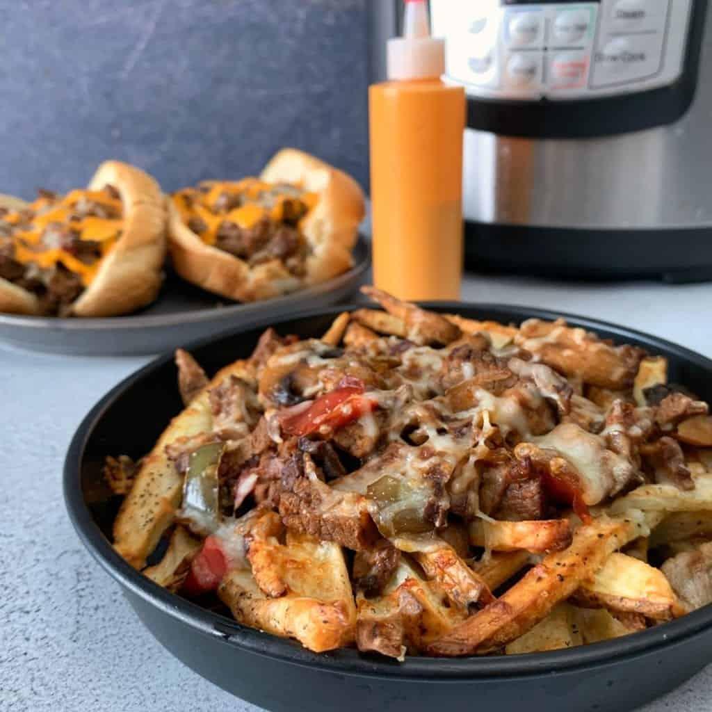 instant pot cheesesteak recipe
