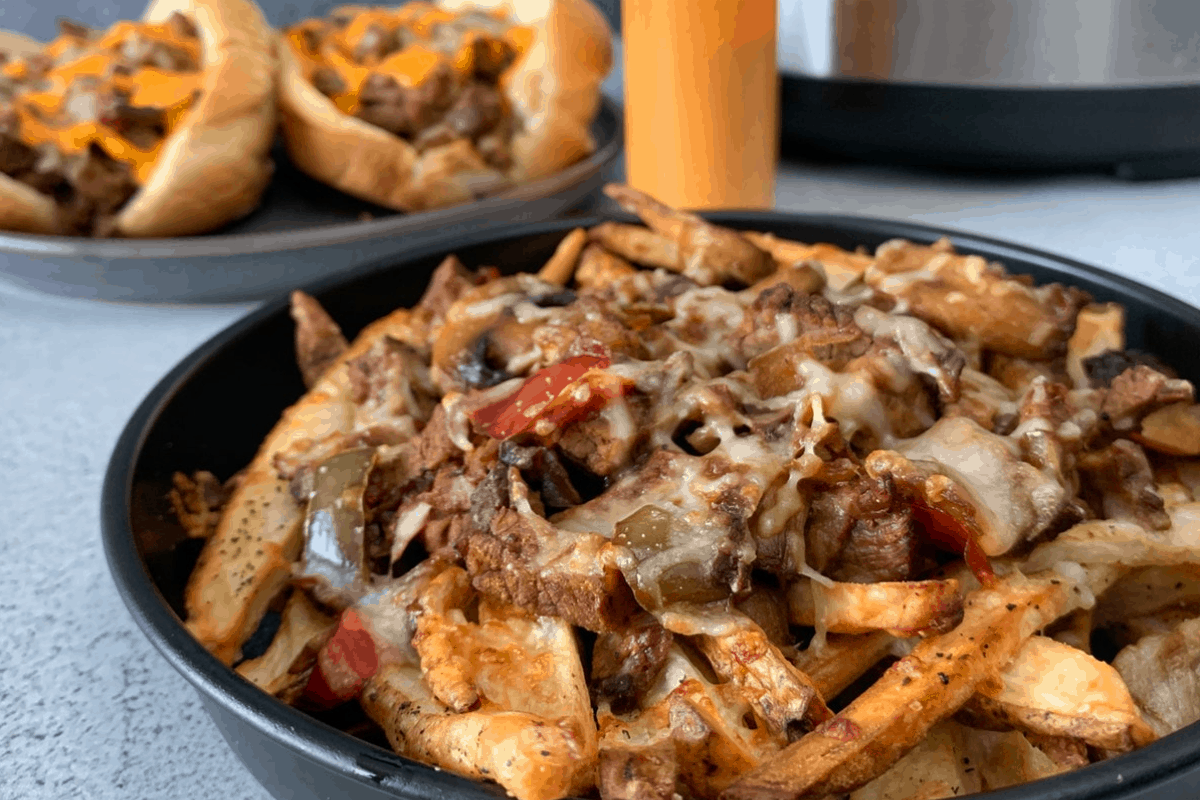 Instant Pot Cheesesteak