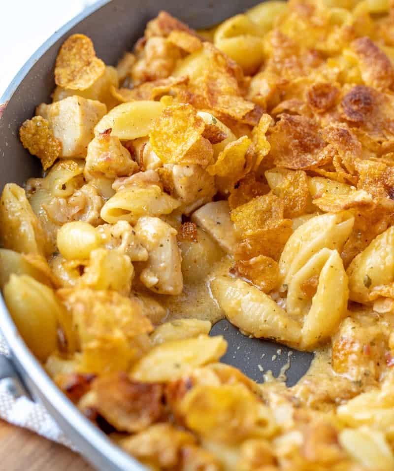 low carb chicken bacon ranch mac and cheese recipe