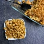 garlic parmesan mac and cheese recipe with chicken