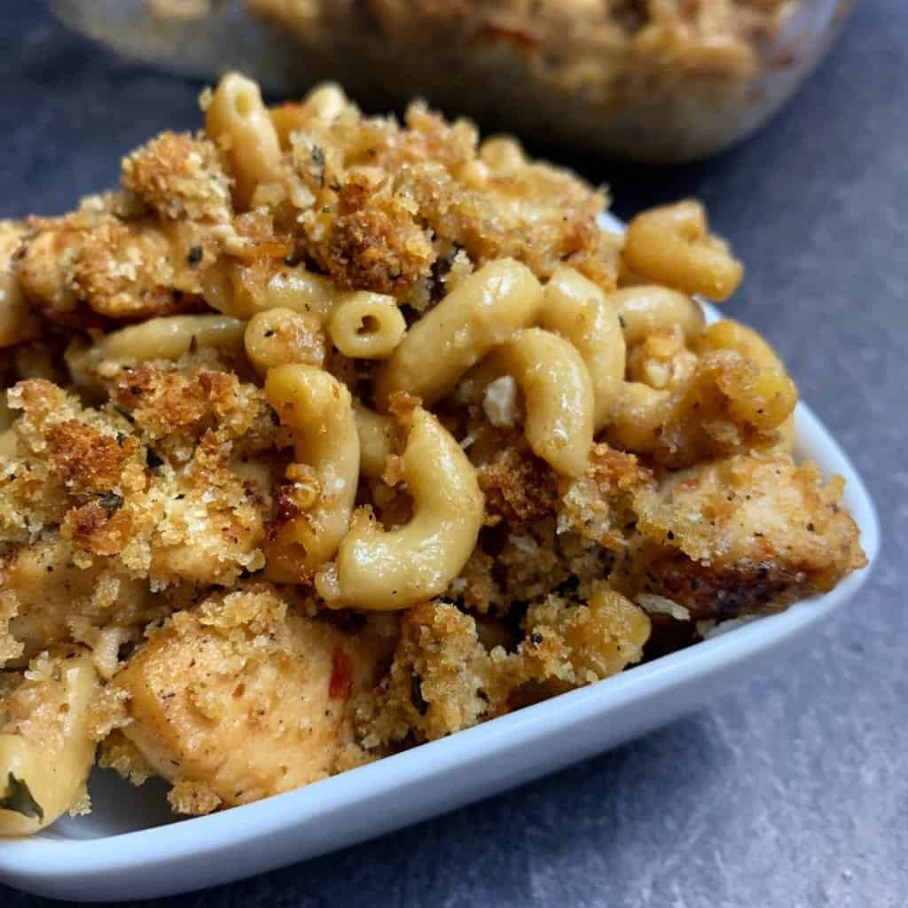 mac and cheese with chicken recipe