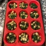 potato mushroom spinach and feta egg white cups step 3
