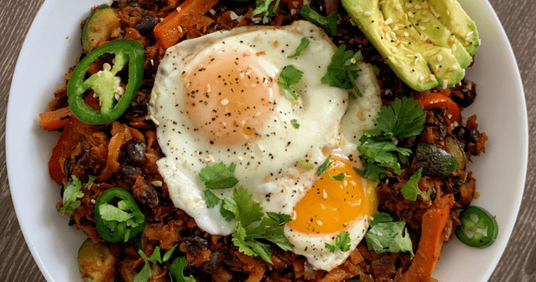 sweet potato breakfast hash recipe featured image