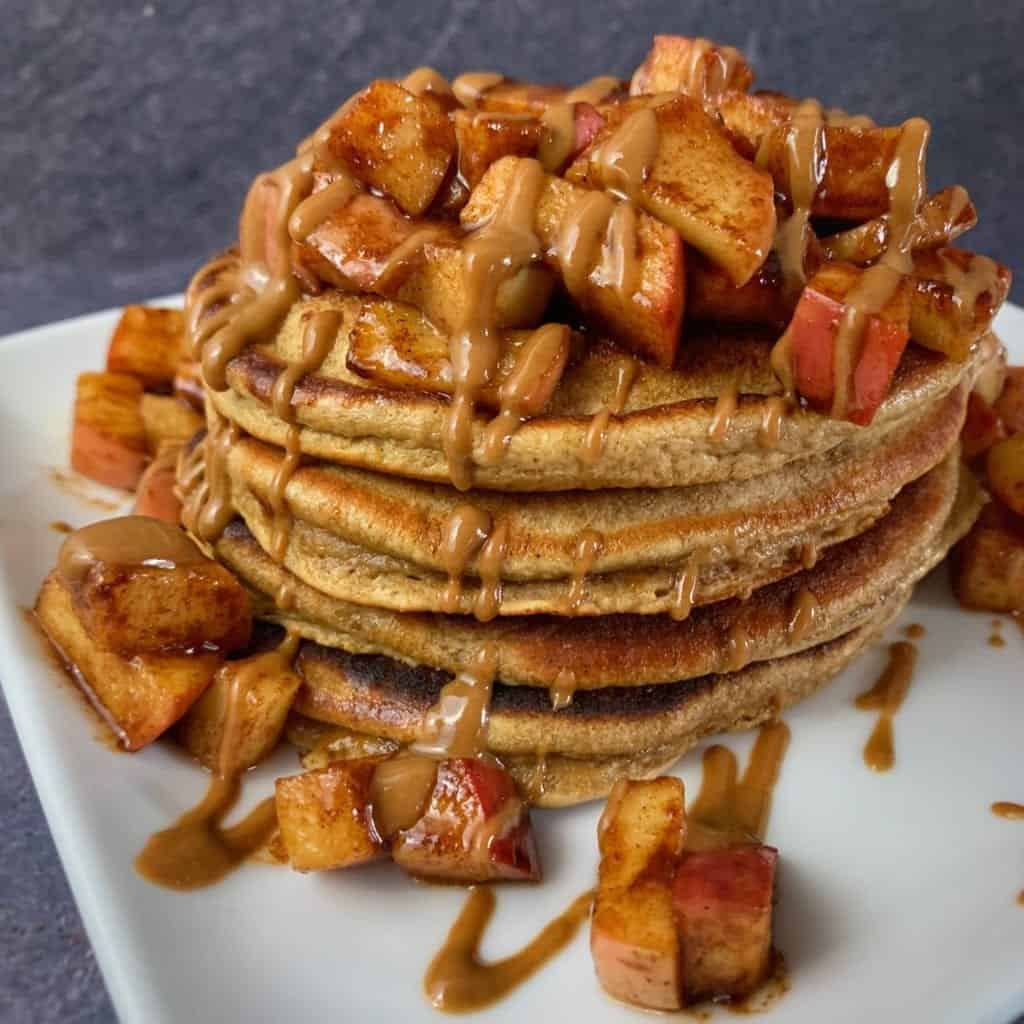 cookie butter protein powder pancakes recipe