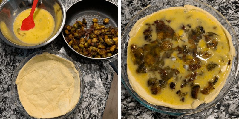 how to make breakfast pie with crescent rolls