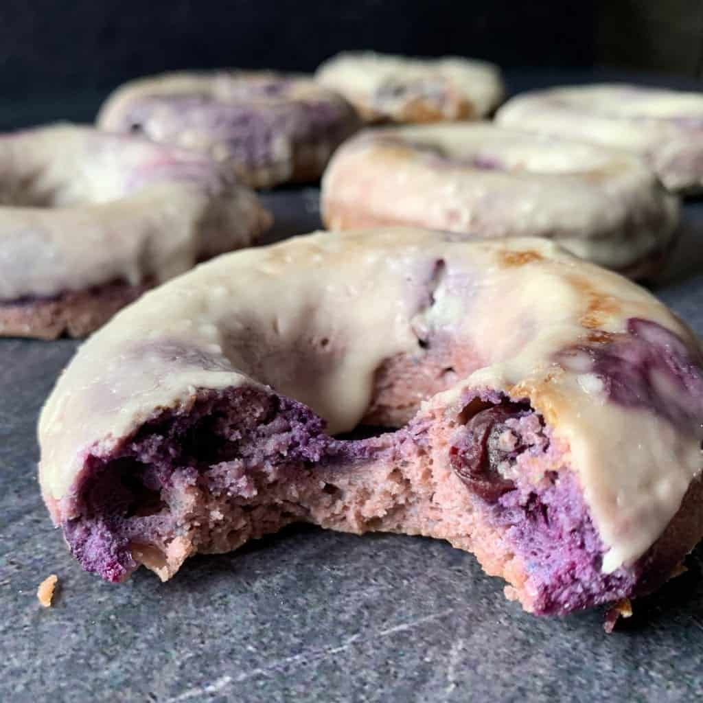 inside blueberry cake donut recipe