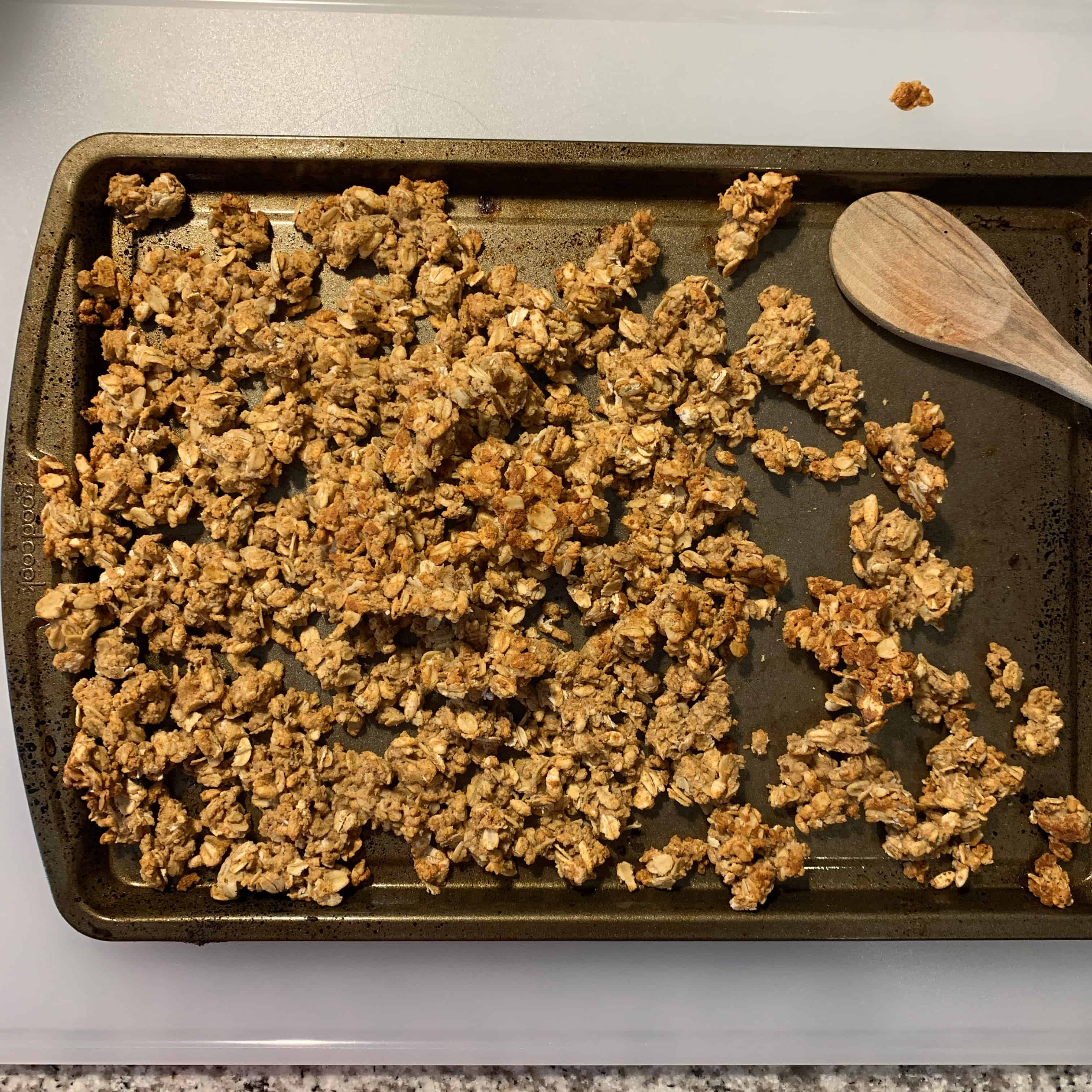 protein granola after 15 minutes