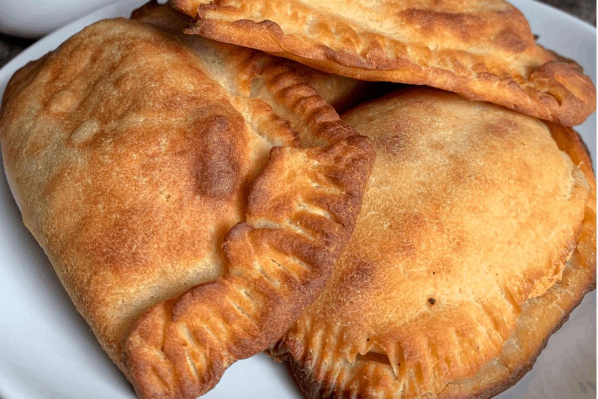Baked Buffalo Chicken Empanadas