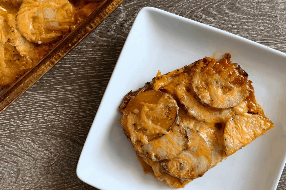 Healthy Potatoes Au Gratin