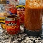 honey chipotle sauce for chicken in a blender