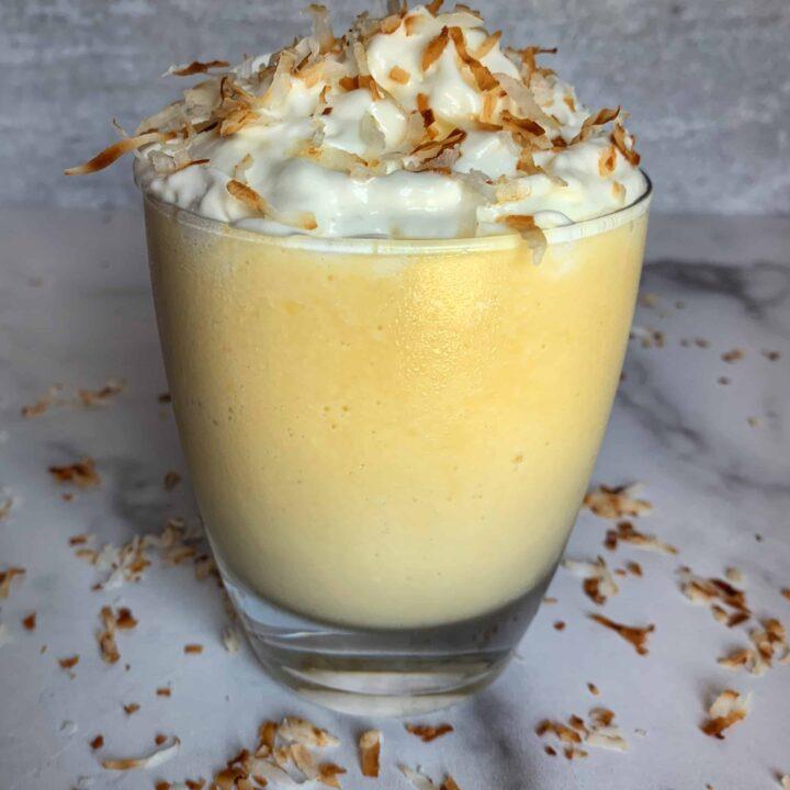 Tropical Protein Milkshake