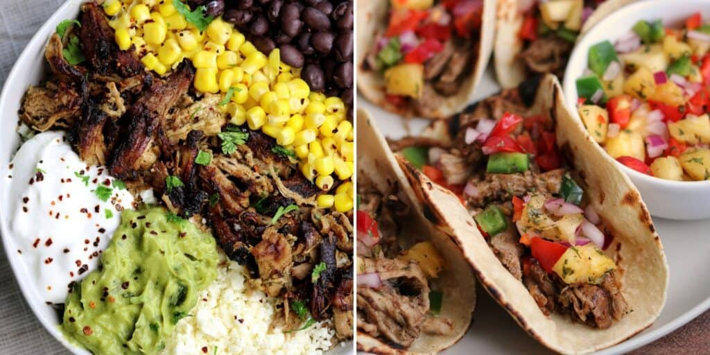 pork tenderloin carnitas and jerk pork tenderloin