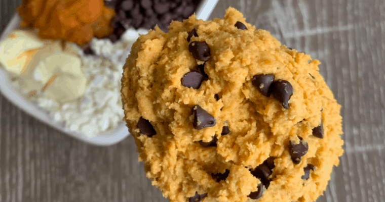Protein Cookie Dough for One